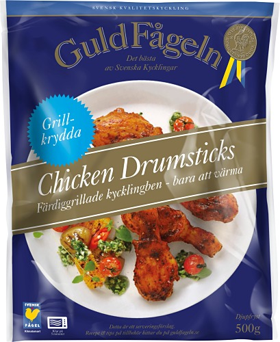 Chicken Drumsticks Grillkryddade 500 g