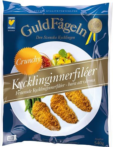 Kycklinginnerfiléer Crunchy 540 g