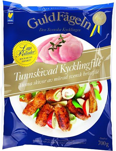 Tunnskivad Kycklingfilé 700 g