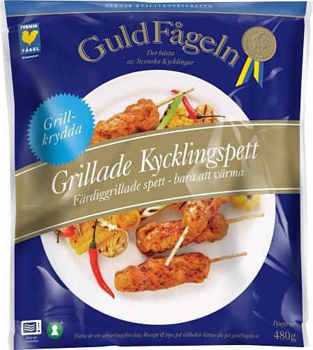 Grillade Kycklingspett 480 g